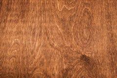 Деревянная коричневая текстура над всей рамкой Стоковая Фотография