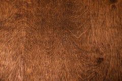 Деревянная коричневая текстура над всей рамкой Стоковое Изображение