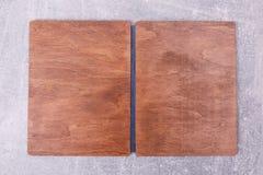 Деревянная коробка кухни стоковое изображение rf