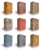 Деревянная коробка на белой предпосылке Стоковая Фотография RF