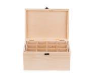 Деревянная коробка для шариков биллиарда Стоковая Фотография