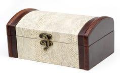Деревянная коробка Стоковое Изображение