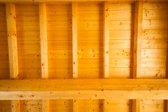 Деревянная крыша стоковые изображения rf