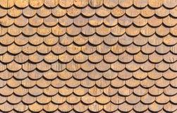 Деревянная крыша Стоковые Фото