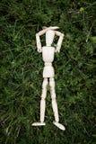 Деревянная кукла стоковое фото