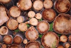 Деревянная куча Стоковое Изображение