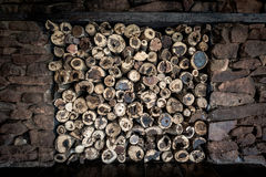 Деревянная куча Стоковое фото RF