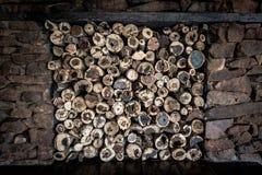 Деревянная куча Стоковая Фотография