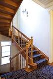 Деревянная лестница Стоковое Изображение