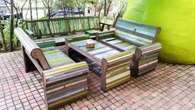 Деревянная мебель Стоковые Изображения