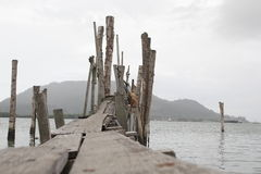 Деревянная мола стоковое изображение rf