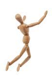 Деревянная модель художника Стоковое Изображение RF