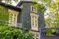 Деревянная недвижимость дома Стоковые Фотографии RF