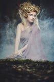 Деревянная нимфа стоковое фото