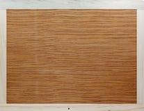 Деревянная обрамленная предпосылка панели. Стоковое фото RF