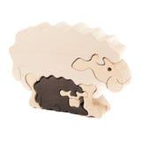 Деревянная овечка игрушки Стоковые Изображения