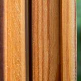 Деревянная оконная рама Стоковое Фото