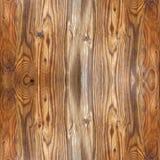 Деревянная доска для безшовной предпосылки Стоковая Фотография