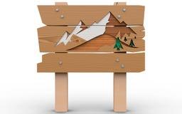 Деревянная доска Стоковое Фото