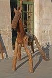 Деревянная лошадь Стоковое Изображение
