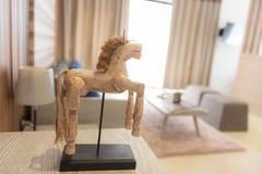 Деревянная лошадь Стоковые Фото