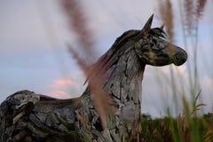 Деревянная лошадь Стоковые Изображения