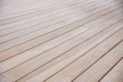 Деревянная палуба Стоковые Фотографии RF