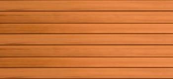 Деревянная панорама предпосылки темных ровных доск Стоковые Фотографии RF