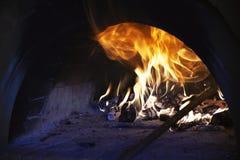 Деревянная печь Стоковое Фото