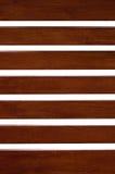Деревянная планка изолированная на белизне Стоковое Изображение RF
