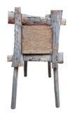 Деревянная плита на ногах Стоковые Фотографии RF