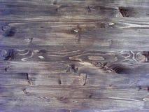Деревянная поверхностная предпосылка - плоский взгляд коричневого деревянного фона текстуры Стоковые Изображения