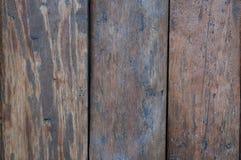 Деревянная покрашенная предпосылка Стоковые Изображения