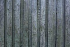 Деревянная покрашенная стена постучала старыми ногтями Стоковое Изображение