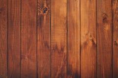 Деревянная предпосылка коричневых планок стоковая фотография rf