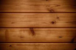 Деревянная предпосылка Планки древесины Брайна Стоковое Фото