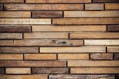 Деревянная предпосылка стены планки Стоковые Фотографии RF