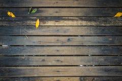 Деревянная предпосылка стены планки Стоковые Изображения RF