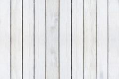 Деревянная предпосылка текстуры, белые деревянные планки Помытая Grunge деревянная картина стены стоковые фото