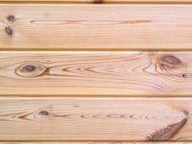 Деревянная предпосылка текстуры стены планки Стоковые Фотографии RF