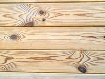 Деревянная предпосылка текстуры стены планки Стоковые Изображения