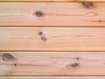 Деревянная предпосылка текстуры стены планки Стоковая Фотография