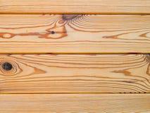 Деревянная предпосылка текстуры стены планки Стоковые Изображения RF