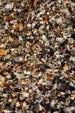 Деревянная предпосылка mulch стоковые фото