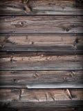 Деревянная предпосылка siding Стоковая Фотография
