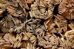 Деревянная предпосылка гонта крыши Стоковые Фотографии RF