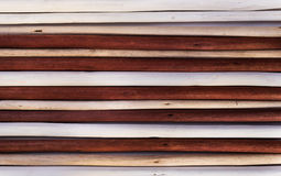 Деревянная предпосылка от покрашенной белизны, слоновая кость и Стоковые Фото