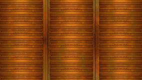 Деревянная предпосылка панели Стоковая Фотография RF