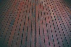 Деревянная предпосылка, пол перспективы деревянный Винтажный тон стоковые изображения rf