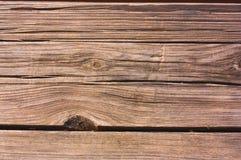 Деревянная предпосылка планок коричневого цвета Стоковое фото RF